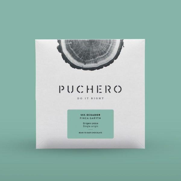 Chocolate bean-to-bar Ecuador caja
