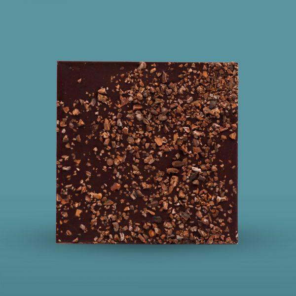 Chocolate con nibs de cacao